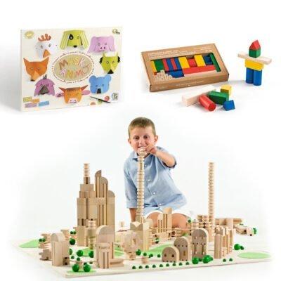 Costruzioni - Carta e legno per liberare la fantasia e la creatività